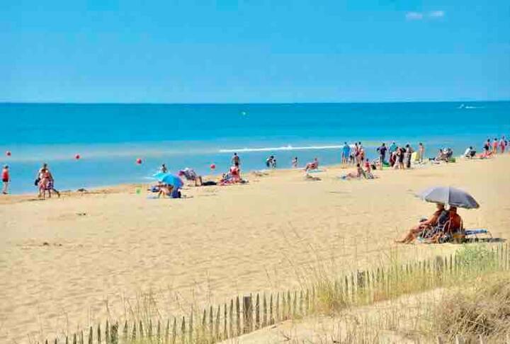 Charmant T2 soleil,belle vue,plages ,lac,balades!