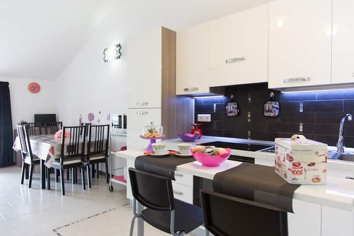 Apartment 50 mt to the beach Pineto