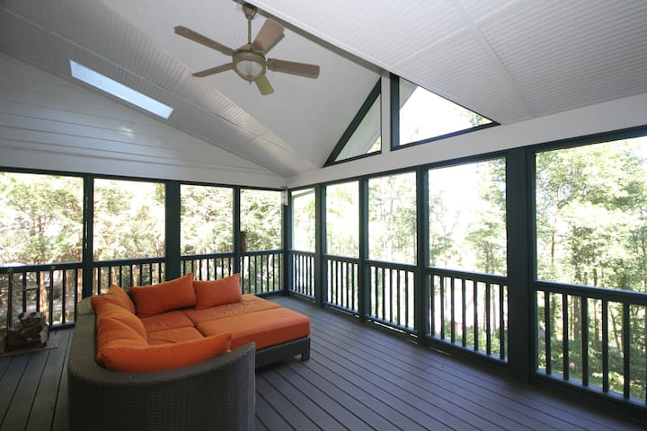 Grove Park Master Suite with View near Downtown - Asheville - Hus