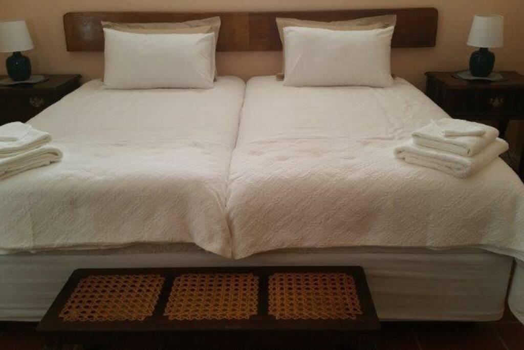 Main bedroom at Frangipani.