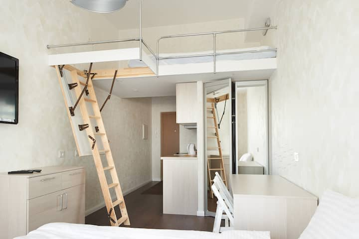 Designer mini loft from Natalex