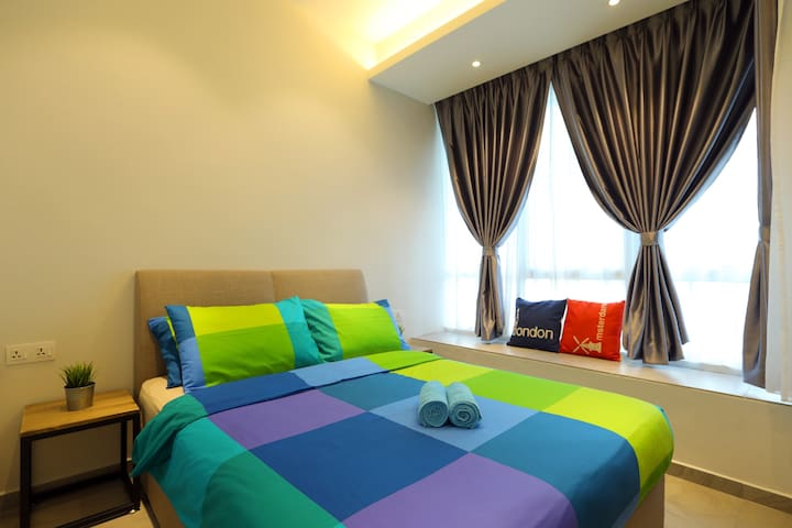New !! CozyHome #5, 2 Bedrooms, 350m to KLCC Tower