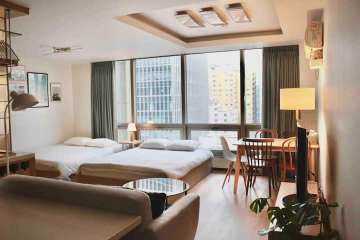 ::GANGNAM_SAMLIM:: 1 minute from Gangnam Station!