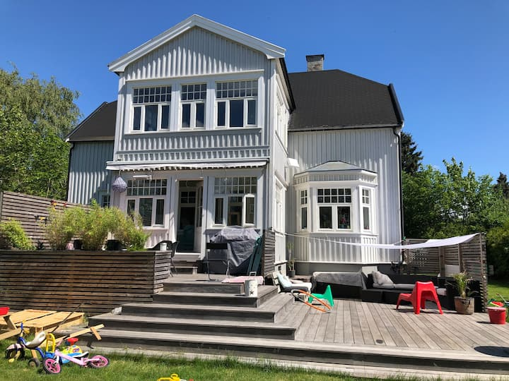 Spacious and charming house in central  Oslo