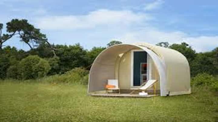 Cocooning en solo ou duo dans camping zen