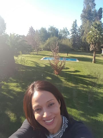 Parcela con piscina matrimonio jove - Chicureo, Región Metropolitana, CL - Maison