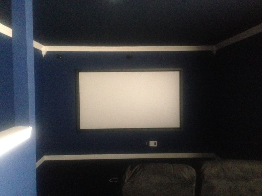 Basement: Watch Movies in Screening Room (Seats 6)