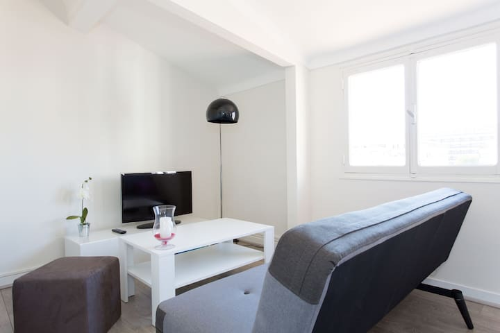 Modern 1 BD in the Heart of Cannes - Cannes - Apartment