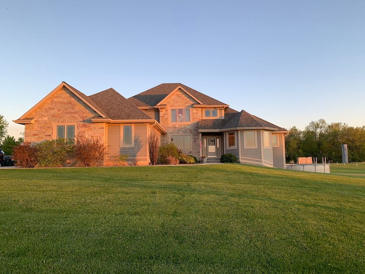 Luxury home w/lots of space. Fall festival nearby!