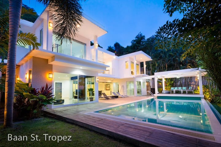 Baan St. Tropez villas  3 br. sleep 7 people