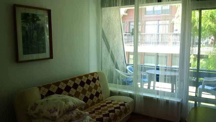 Bendroom for 2+1 with balcony