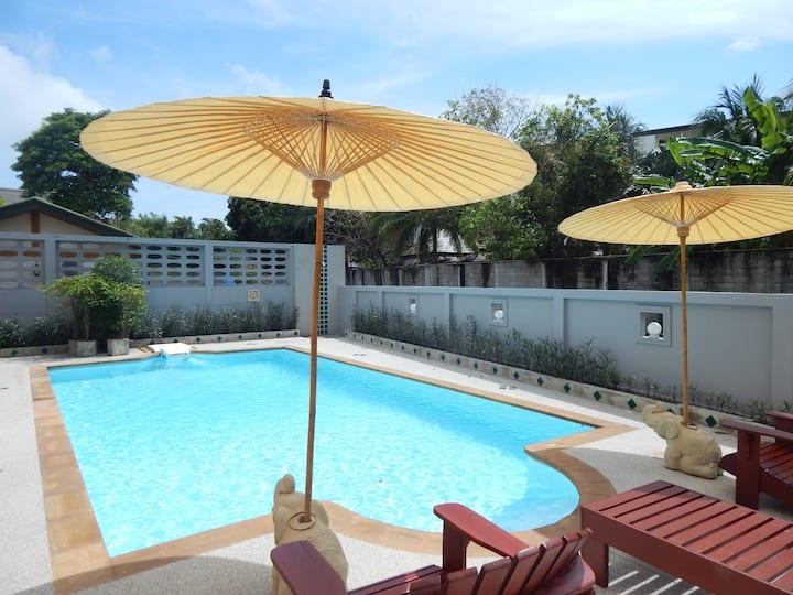 Pool villa jinta serene kata beach