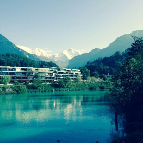 Ruhige & schöne Lage, sehr zentral - Interlaken - Wyspa