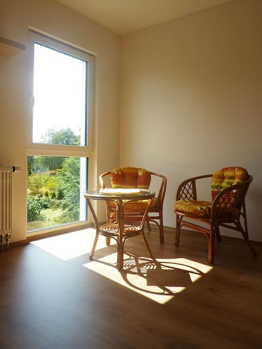 your sunny room in our house - ideal place for silent work or holiday in the nature near the big culture cities – Prague and Pilsen
