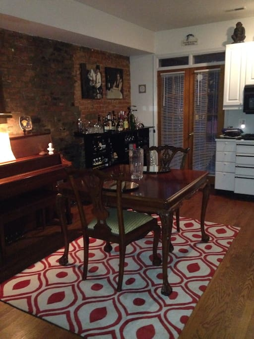 Dupont adams morgan row house houses for rent in washington for M dupont the dining rooms lyrics