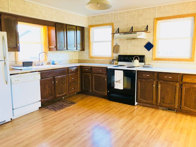 """Mykl's place is wonderful! Everything is clean and well organized. The kitchen is big and has everything you need."" ~Guest, Haley"