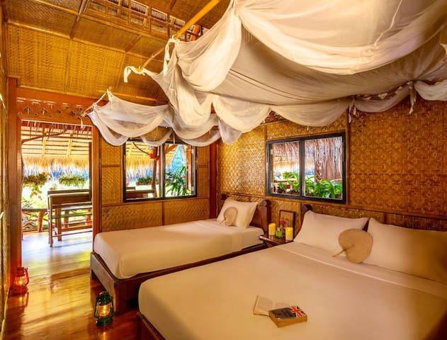 Raft Room on the River Kwai