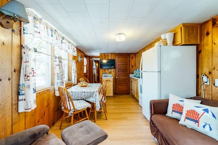 NEW LISTING! Family friendly cottage with deck and shared grill - dog-friendly!