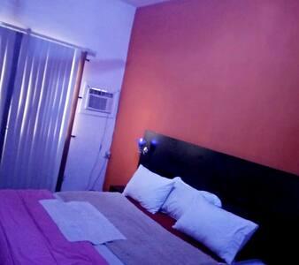 (ORANGE)Luxury Bedroom, Scandinavian Style Duplex