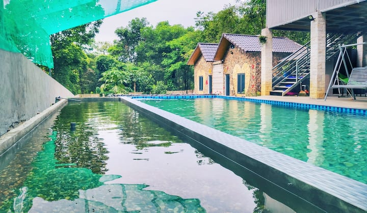 Rooms in Sỏi Homestay Ba Vì with Pool