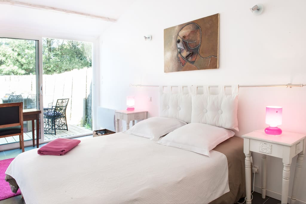 ile de re chambre d h tes rose villas for rent in la couarde sur mer. Black Bedroom Furniture Sets. Home Design Ideas