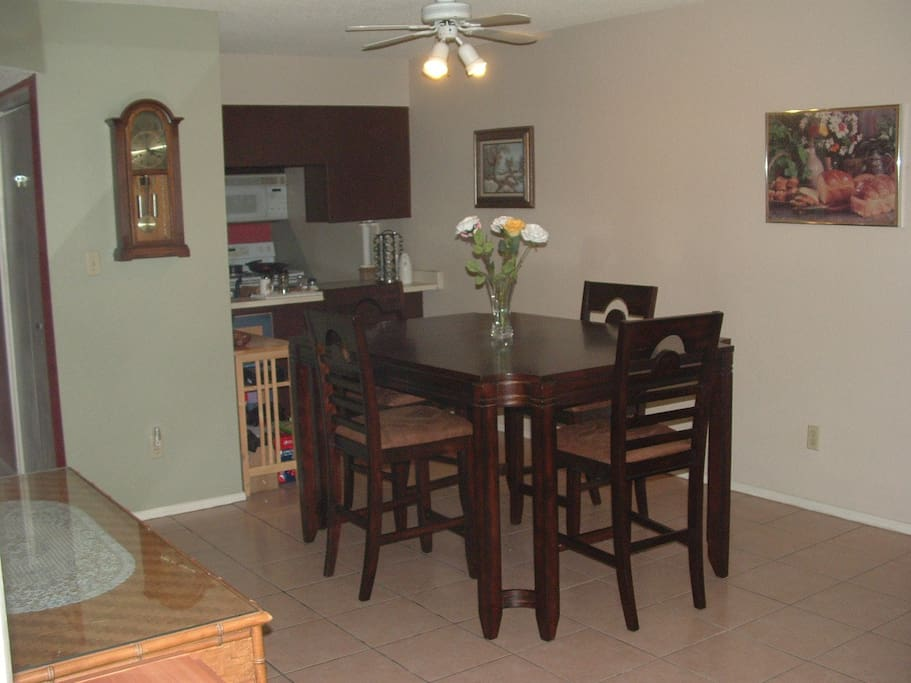 Dining area for a great breakfast