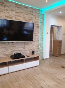 Gemütliche Stylische Moderne Zentrale Wohnung WLAN