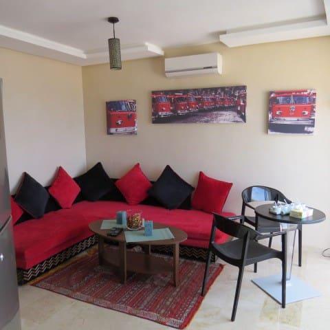 Appartement meublé avec vue sur mer