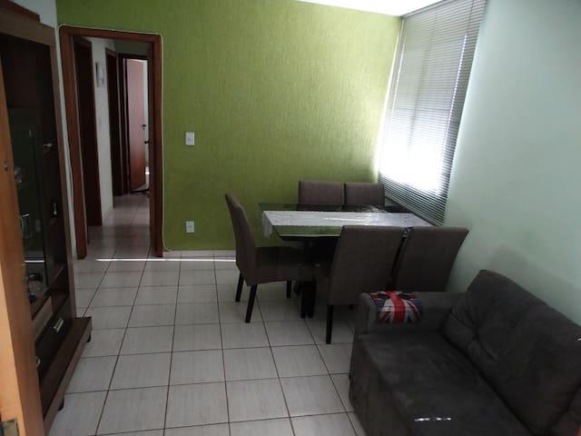 Apartamento com fácil acesso e tranquilidade