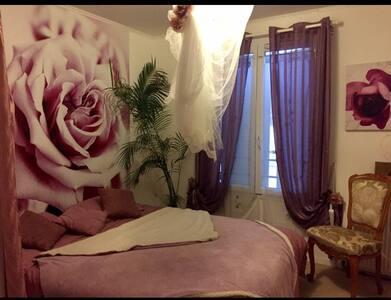 Chambre tout confort, spacieuse. - Le Coudray-Montceaux