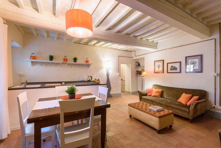 "Farm la Speranza,Tuscan Houses,""Orange House"""