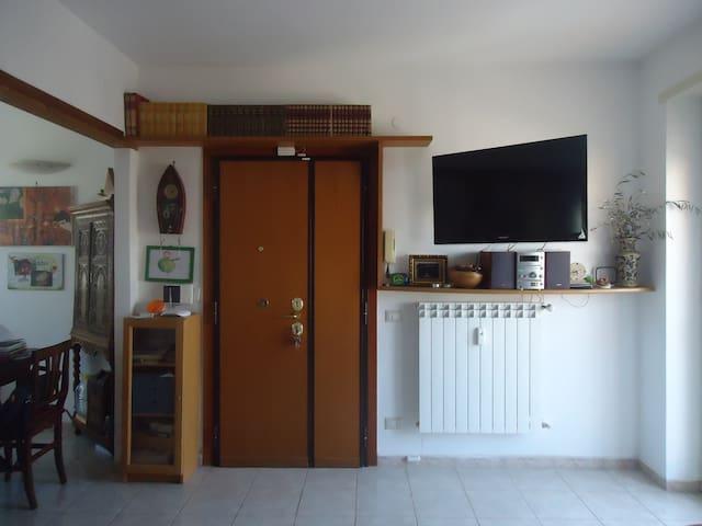 Appartamento luminoso con terrazzo - Roma - House