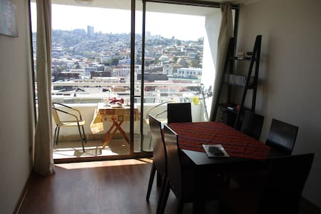 Departamento con hermosa vista en Valparaiso - Appartement