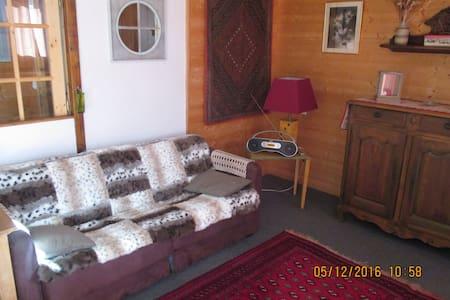 Coquet appartement style chalet de montagne - Isola