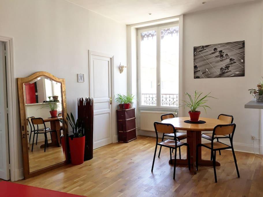 appartement 2 chambres part dieu spacieux lumineux appartements louer lyon auvergne rh ne. Black Bedroom Furniture Sets. Home Design Ideas