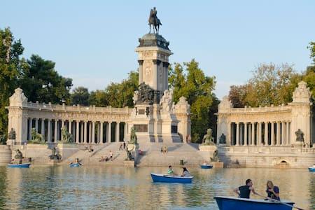 Parque del Retiro! Cerca del centro - Madrid