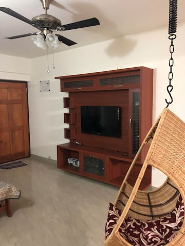 Fully furnished apt near Manyata & Karle Tech Park