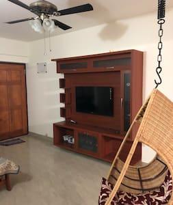 Fully furnished apt near Manyata & Karle Tech Park