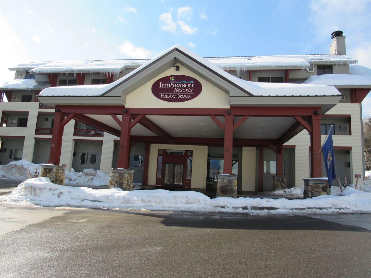 Winter at Pollard Brook Resort