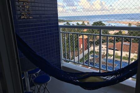 Apartamento agradabilíssimo com vista mar