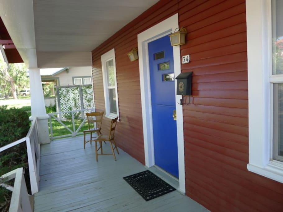 airy front porch