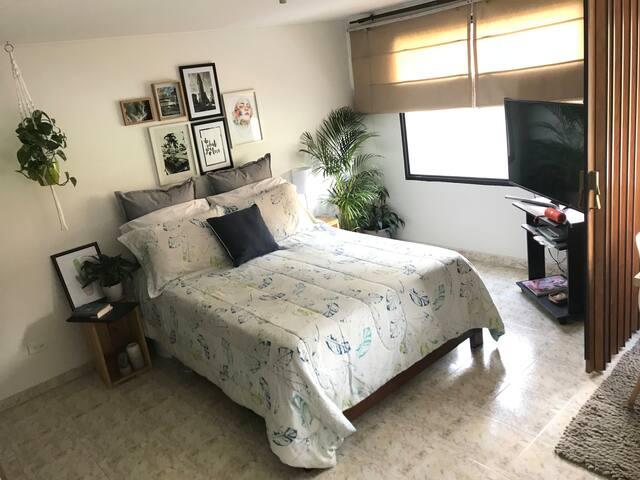 Hermoso apartamento tipo loft en Chapinero Alto