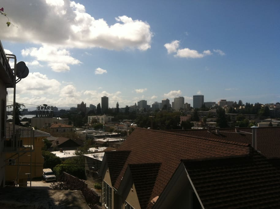Great views of downtown Oakland