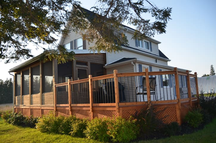 3 Bedroom Ocean View Vacation Home - Saint Peters Bay
