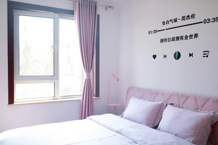 壁挂CD 可投影 少女心公寓