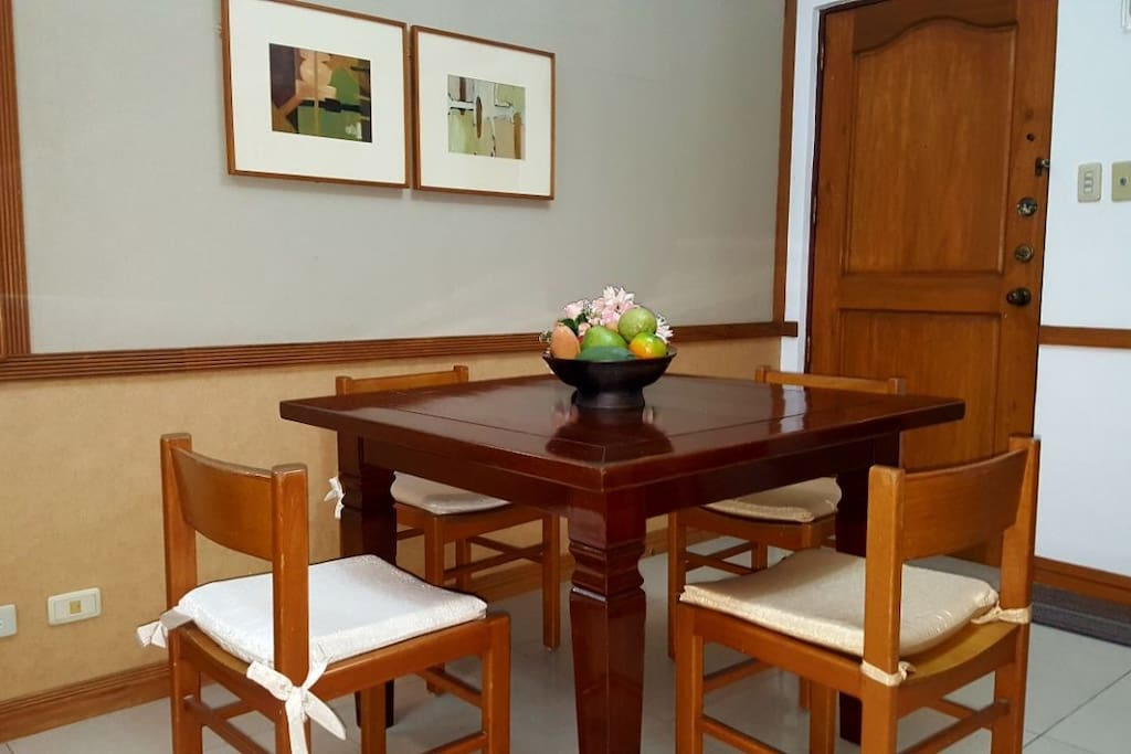 4-seater dining