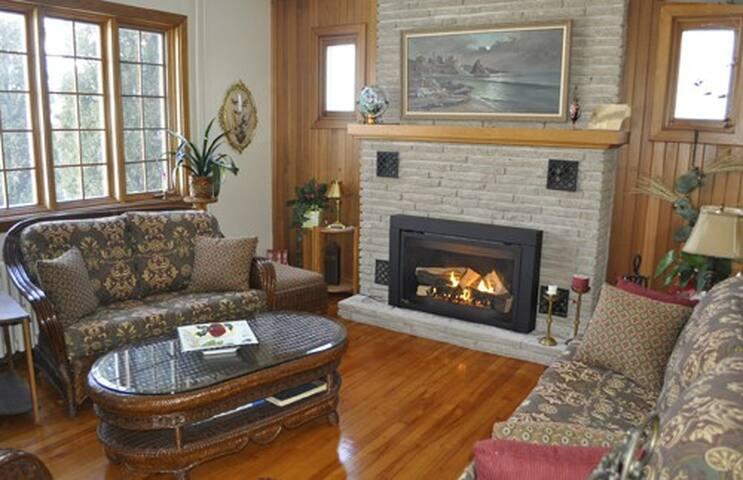 Quel confort  la chaleur et l'ambiance qu'on peut créer autour d'un feu de foyer