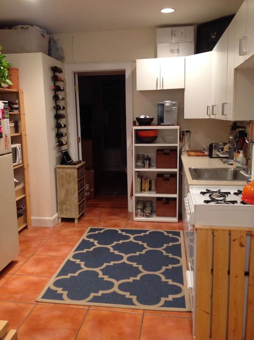 large kitchen space (for NYC)