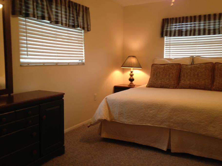 Master bedroom King mattress-