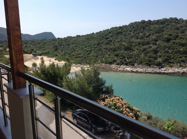 2 bedroom overlooking beach - Skala Marion, Thassos - Appartement